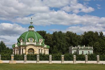 View of the Grotto in Kuskovo estate