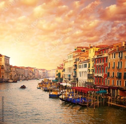 Beautiful Venice canal view - 37327973