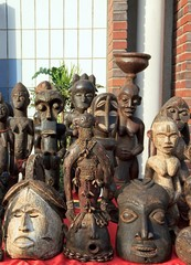 masques africains, exposition vente