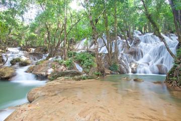 Pha Tat  Waterfall   Thailand