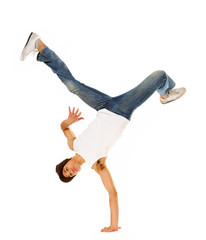 breakdancing isolated