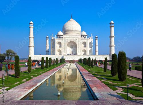 Fototapeten,taj mahal,agra,indien,world heritage
