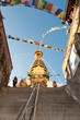 Monkey temple stairs - Swayambhunath
