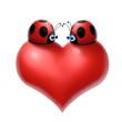 cuore coccinelle1