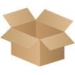 shipping box - vector