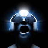 Fototapety DJ with Headphones