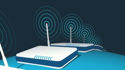 Global Routers Transmitting Loop HD
