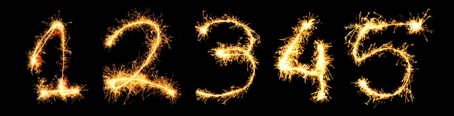 Real Sparkler Digits. See other digits in my portfolio. 1 2 3 4