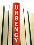 Urgency books related poster