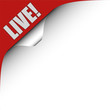 Seitenecke rot links LIVE!