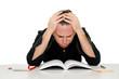 stufo di studiare