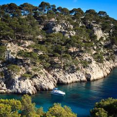 Splendid southern France coast (Calanques de Cassis