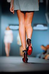Podium on fashion show