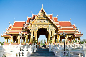 Buddhism pavilion in bangkok, Thailand