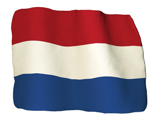 Netherlands flag of clay