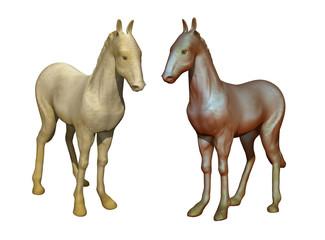modello di cavallo