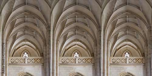 ornamental gothic triple gallery
