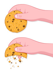 Thats The Way The Cookie Crumbles Idiom