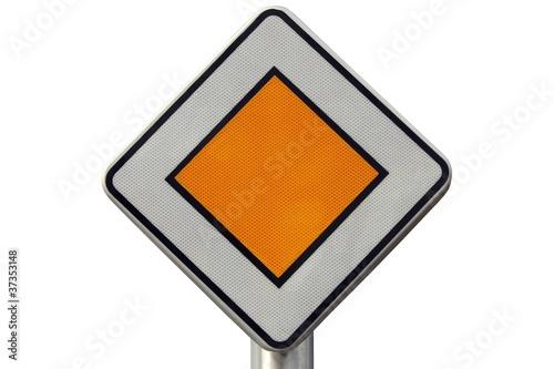 panneau de route prioritaire de jackin photo libre de droits 37353148 sur. Black Bedroom Furniture Sets. Home Design Ideas