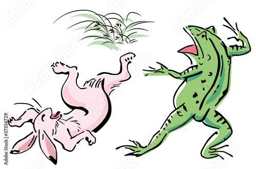 Wildlife caricature