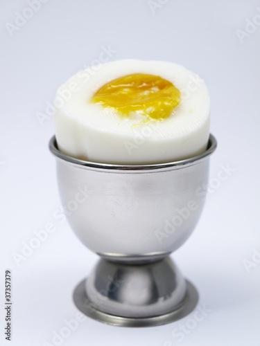 Frühstücksei im Becher
