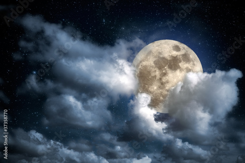 Plakat Full Moon