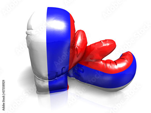 BOXING GLOVES RUSSIA