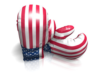 BOXING GLOVES UNITED STATES OF AMERICA