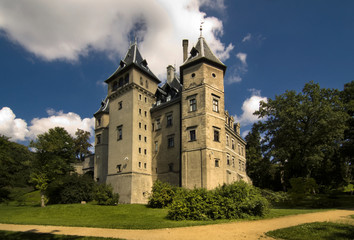 Goluchow Castle in Poland
