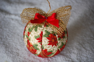 Handmade Christmas ball decoration - Palle di Natale artigianali