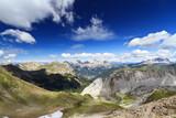 Naklejka Monzoni valley, Italian Dolomites