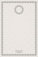 Vintage diploma