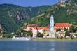 der malerische Ort Duernstein in der Wachau
