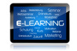 Tablet mit E-Learning