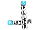 3D Buyer Seller Crossword poster