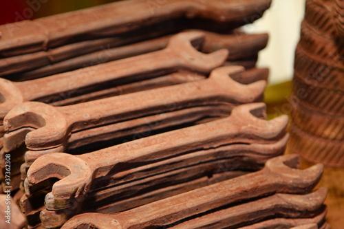 schraubenschluessel aus schokolade von mako68. Black Bedroom Furniture Sets. Home Design Ideas