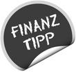 TF-Sticker rund curl unten FINANZ TIPP