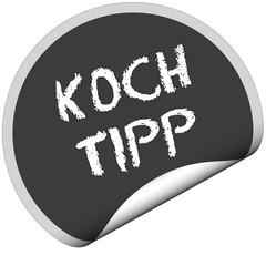 TF-Sticker rund KOCH TIPP