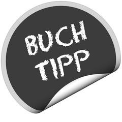 TF-Sticker rund curl unten BUCH TIPP
