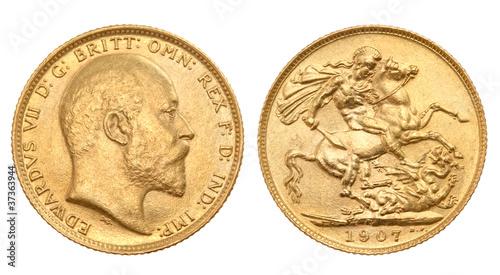 British gold sovereign - 37363944