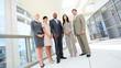 Ambitious Multi Ethnic Business Team in Portrait