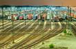 Güterbahnhof Maschen - Hamburg