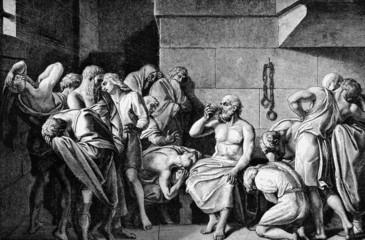 Socrates Drinking The Conium