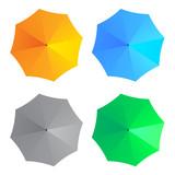Fototapety vector umbrellas
