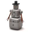 Cubic snowman
