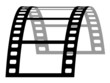 vector 3d film strip