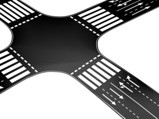 Vector crossroad