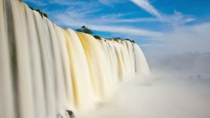 Iguazu falls, timelapse.
