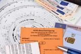 Ausweise und Papiere für LKW-Fahrer