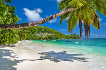 tranquil Seychelles beches